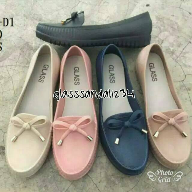 Jelly shoes sepatu wanita TALI BALANCE L553-1 variasi 2  c734595778