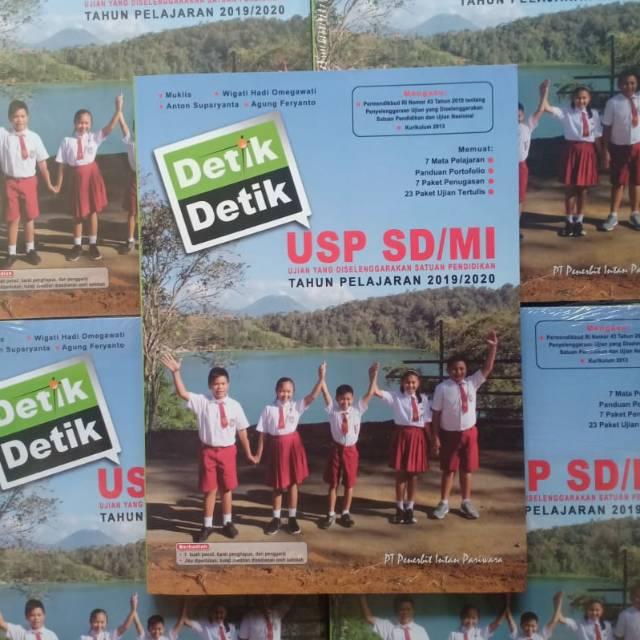 Buku Detik Detik Usp Sd 2020 Dilengkapi Kunci Jawaban Shopee Indonesia