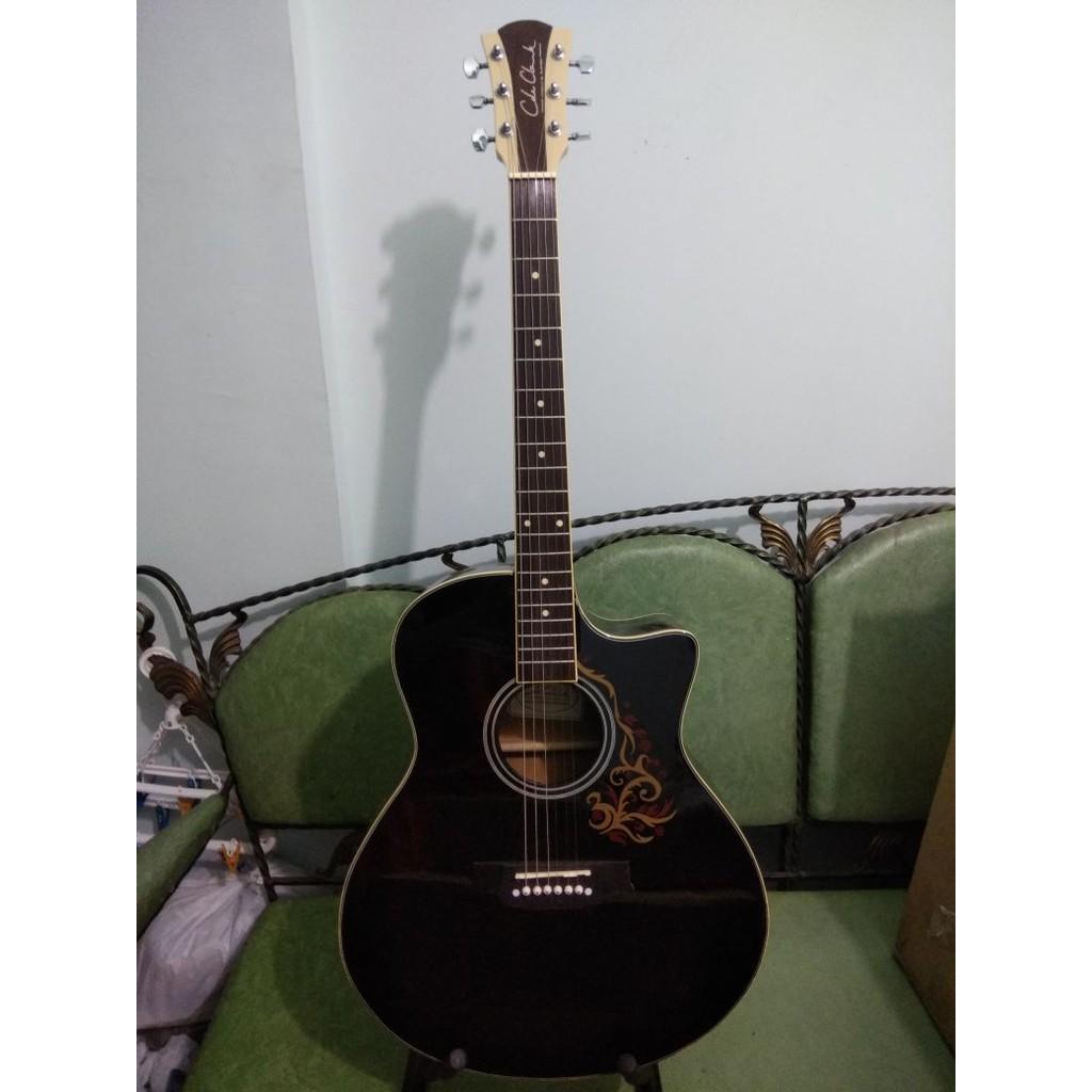 Gitar Akustik Cole Clark Natural Inlay Kerang Murah Jakarta