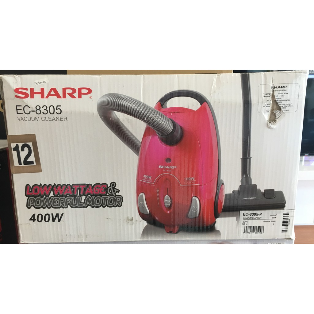 Vacuum Cleaner Sharp Ec Hx100y S Pembasmi Tungau Shopee Indonesia Mite Catcher Hx100