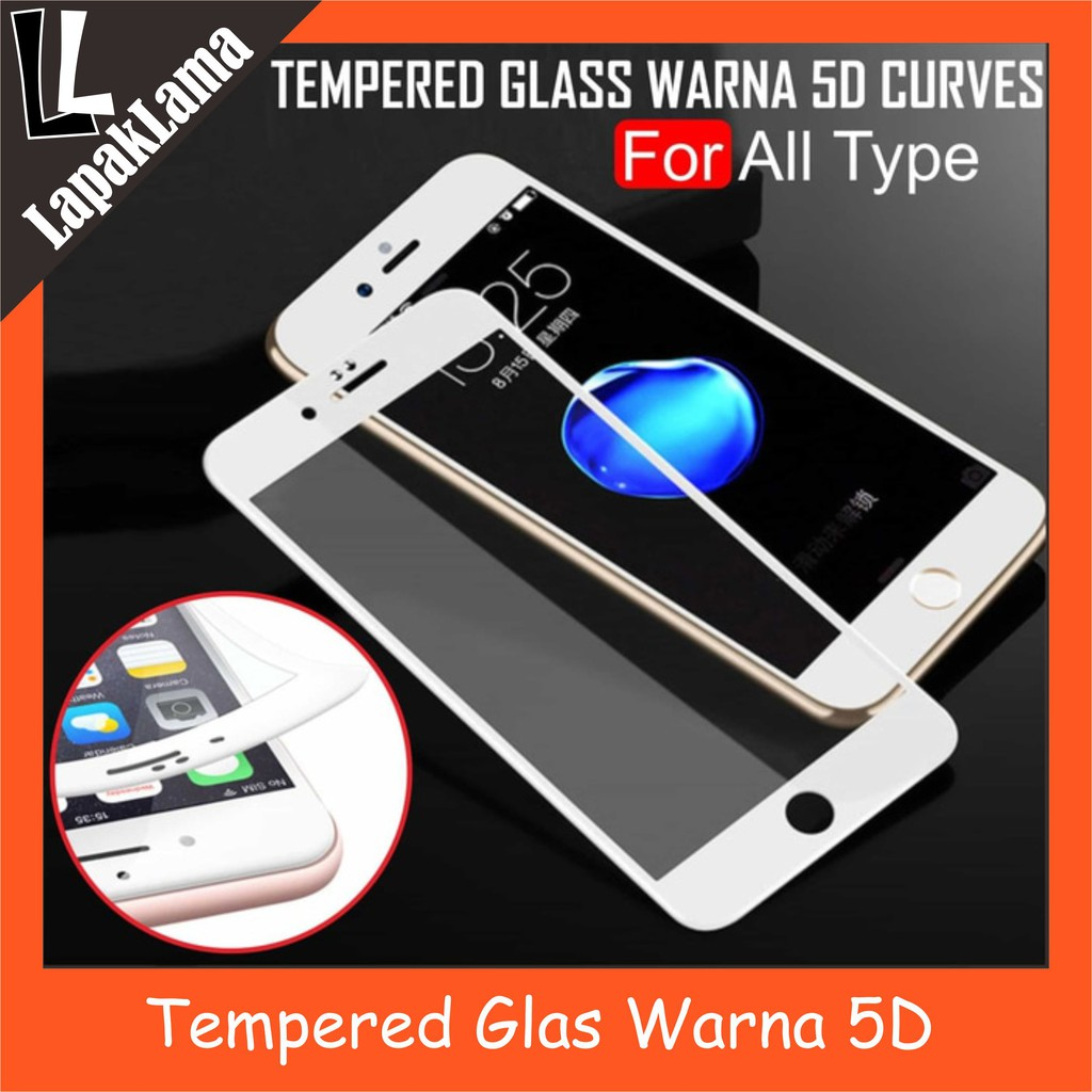 All Type X2 Tempered Glass Warna Xiaomi Iphone Vivo Samsung Bening Oppo Asus Infinix At Colour Shopee Indonesia