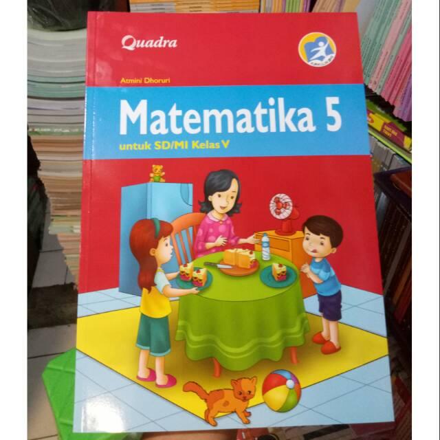 Buku Matematika Kelas 5 Penerbit Quadra Original Shopee Indonesia