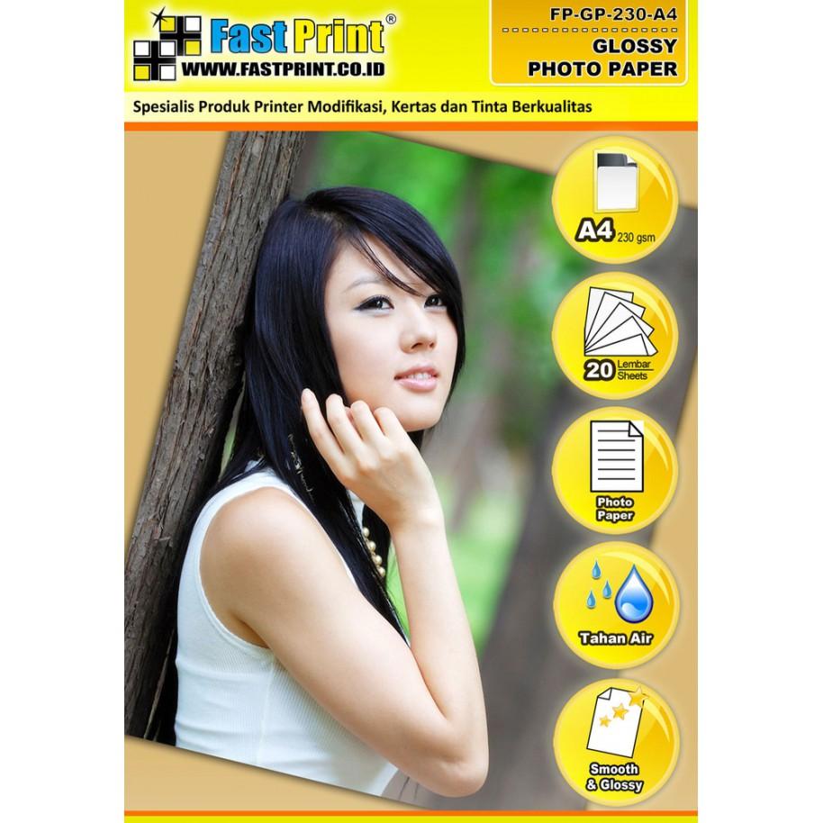 Promo Photo Paper Glossy Kertas Foto E Print 200 Gram Aluminium Alumunium Pack 200gsm Shopee Indonesia