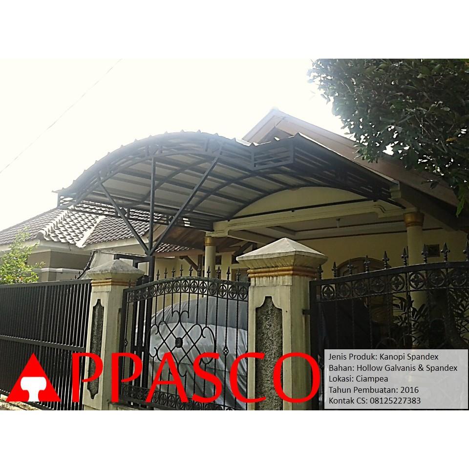 Kanopi Minimalis Spandex Atap Lengkung Di Ciampea Shopee Indonesia