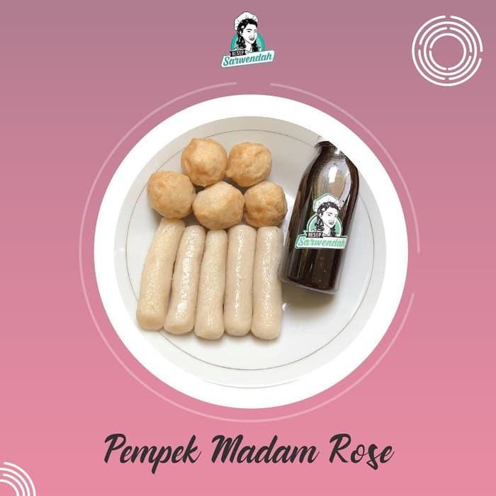 Resep Sarwendah Pempek Madam Kuah Maknyus Snack Makanan 10pcs Shopee Indonesia
