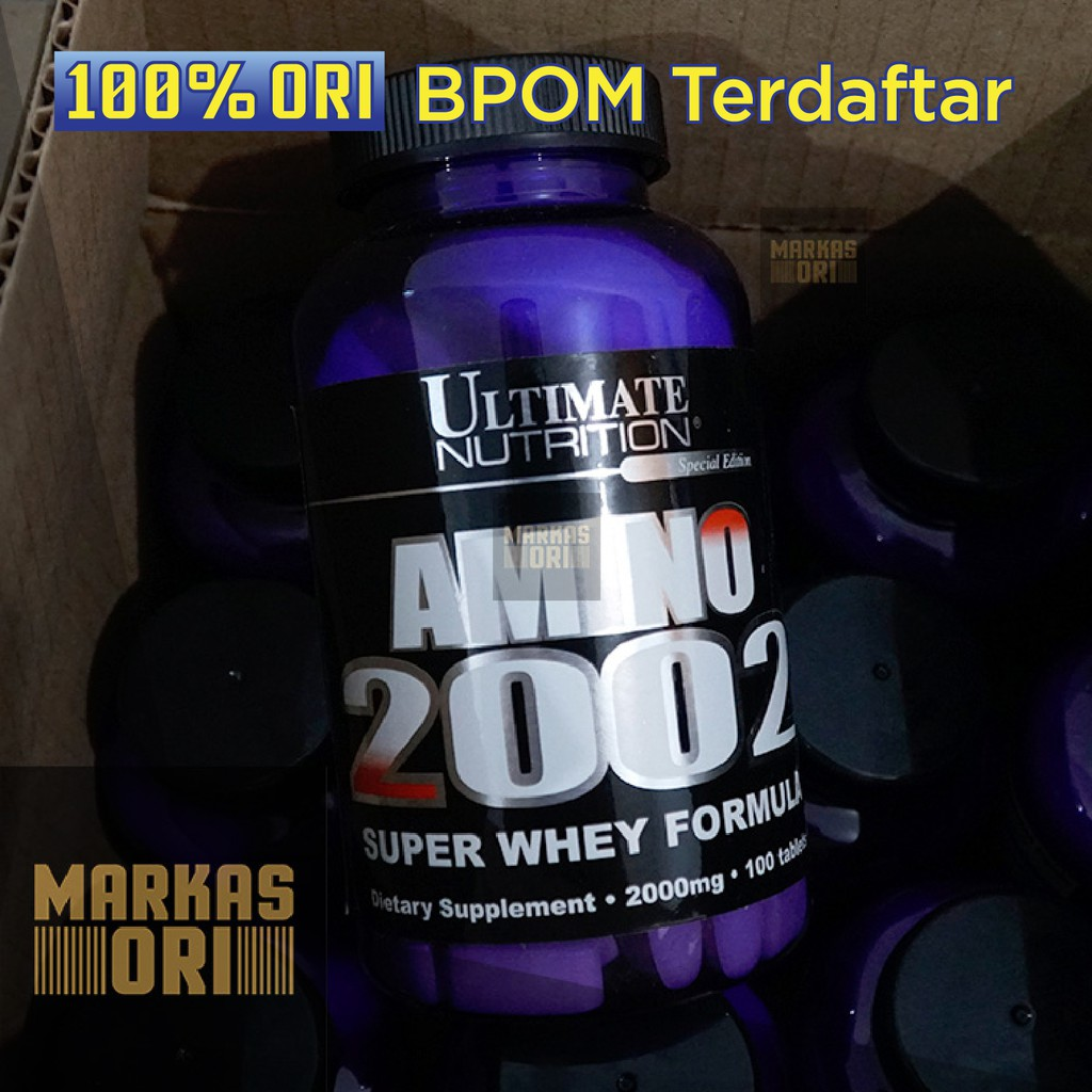 Ultimate Nutrition Amino 2002 330 Tablet Shopee Indonesia Xtreme 330tablet Extreme