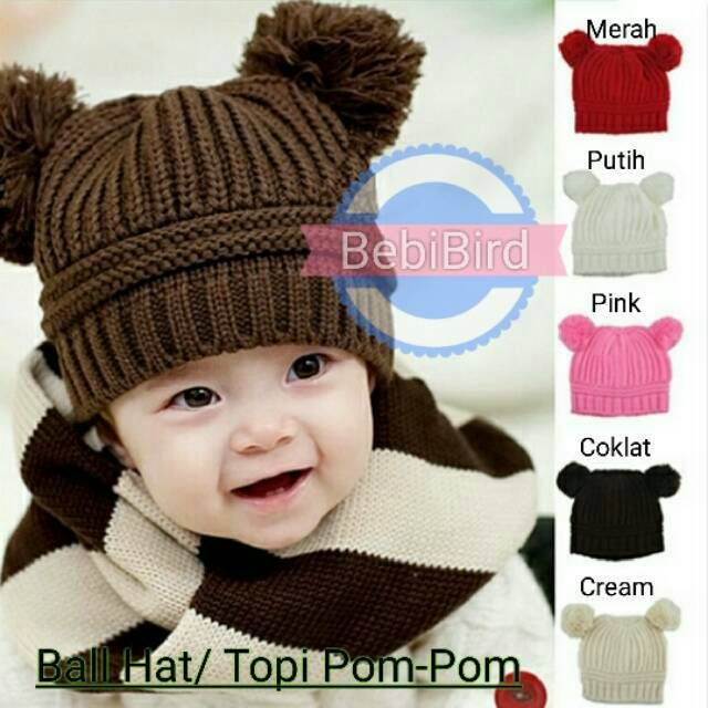 Topi Bolak Balik Anak ( Baby Mj Hat-Model Rajut-Cocok Untuk Bayi   Batita    Balita )  a395c40c2b