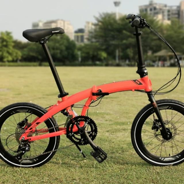 Sepeda Lipat Folding Bike Element Ecosmo Z9 18Speed