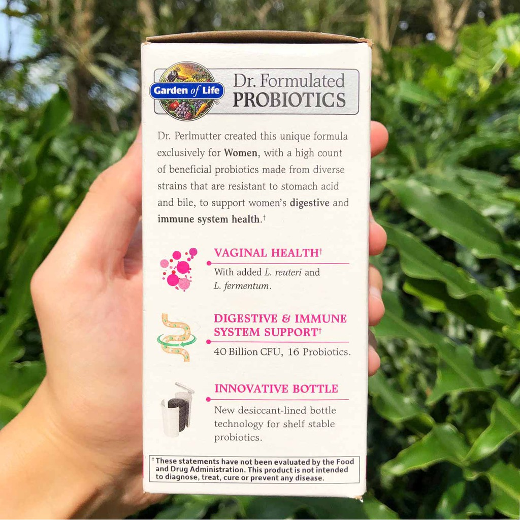 Garden Of Life Dr Formulated Probiotics Women S Daily Care 30 Kapsul Shopee Indonesia