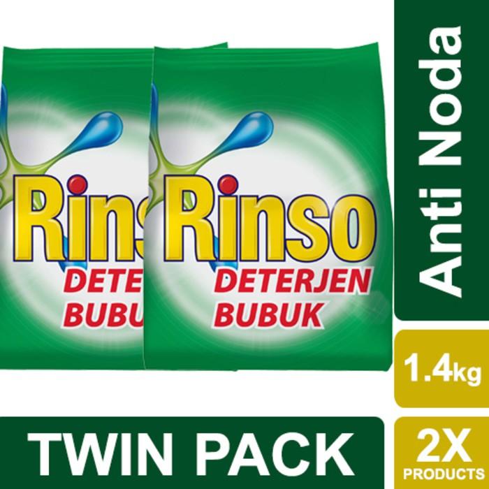 Cuci Gudang Rinso Deterjen Bubuk Anti Noda 900g Shopee Indonesia