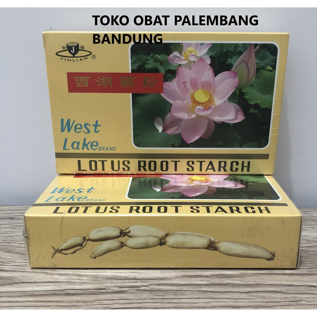 Lotus Root Starch Minuman Serbuk Pati Akar Teratai West Lake