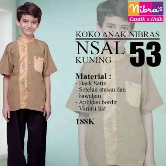 Setelan Koko Anak NSAL 53 by Nibras