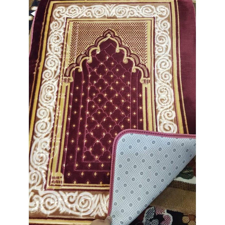 Sajadah Panda Ukuran 80 X 115 Biru Shopee Indonesia Karpet Rumah Marocco 100 150 Merah 2303