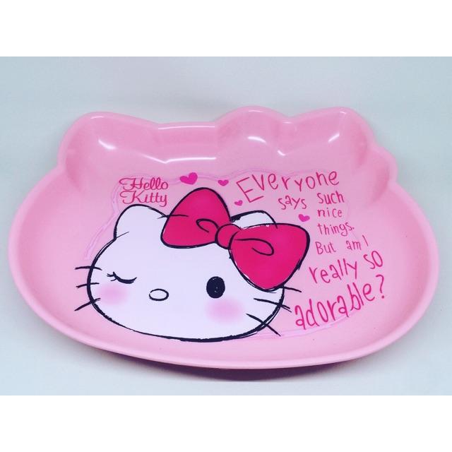 Piring Hello Kitty Melamin Besar by Technoplast