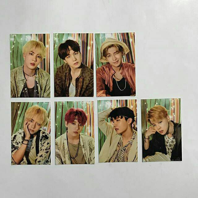 Bts Summer Package Photocards Shopee Indonesia