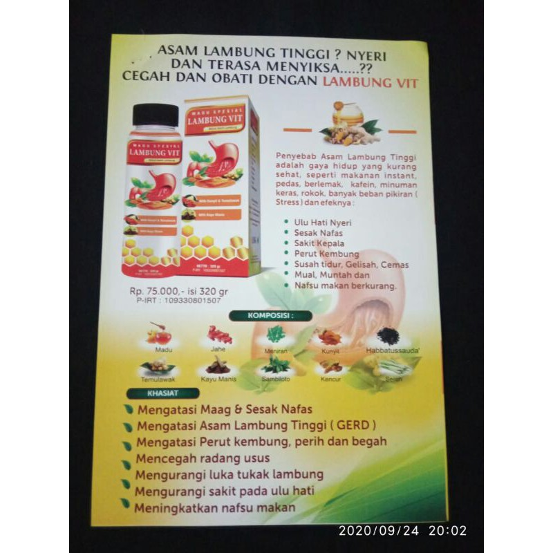 Bravina Lambung Vit Shopee Indonesia