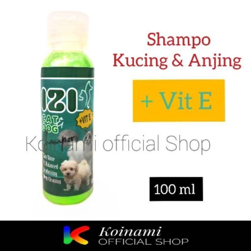 IZI SHAMPO + VITAMIN E 100 ML / SHAMPO KUCING ANJING / TALI MAS
