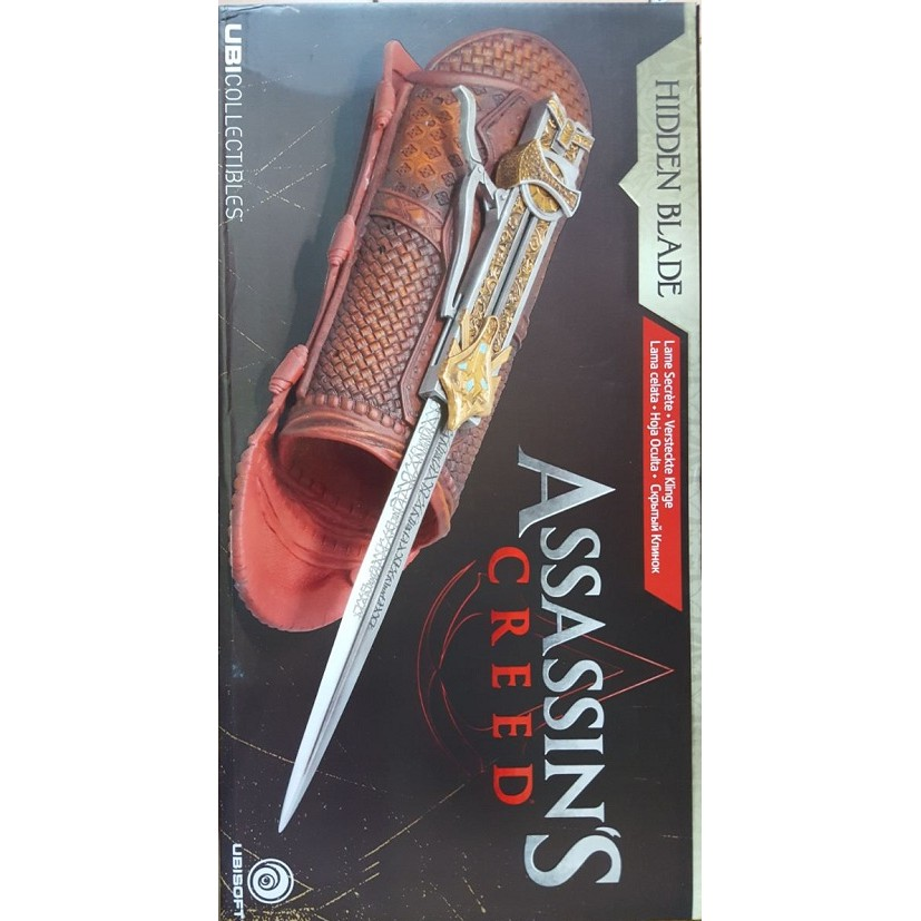 Figurine Assassin Creed Hideen Blade Ubi Collectibles Orgiginal