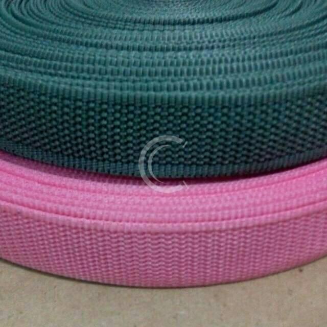Tali Webbing Bisban Sandal Pp Lebar 2 5 Cm Shopee Indonesia