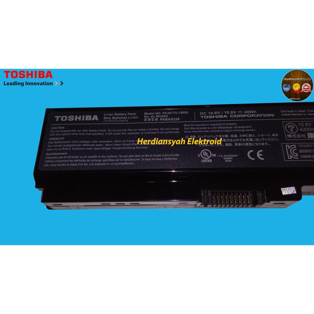 Replacement Baterai Toshiba Satellite C600 C640 C645 C650 C655 L630 Batre L750 L740 L745 L775 3817 Pa3817 Original Laptop L745l630l510c600 Shopee Indonesia