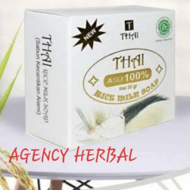 Sabun Beras Thai Rice Milk Sabun Beras Thailand Shopee Indonesia