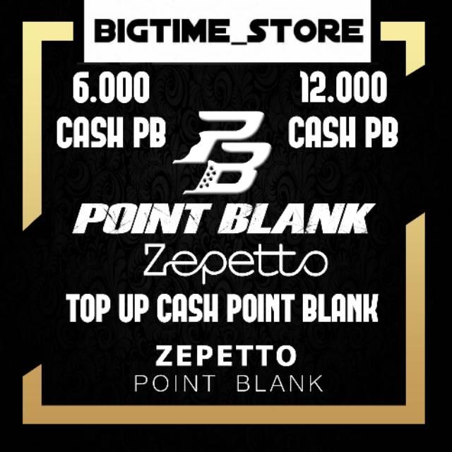 CASH POINT BLANK / CASH POINT BLANK BEYOND LIMITS / CASH POINT BLANK  ZEPETTO / TOP UP CASH