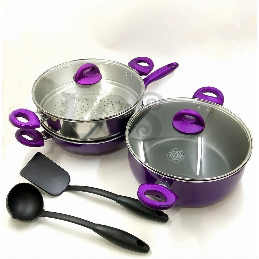 Ox 911 Panci Oxone Basic Cookware Set 4 2pcs Shopee Indonesia Travel Ox993
