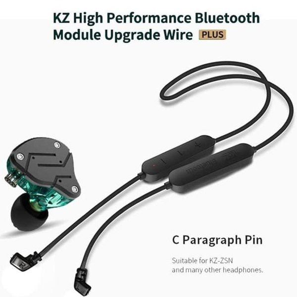 KZ Bluetooth Detachable Module Upgrade Wire Waterproof for ALL KZ Earphone New