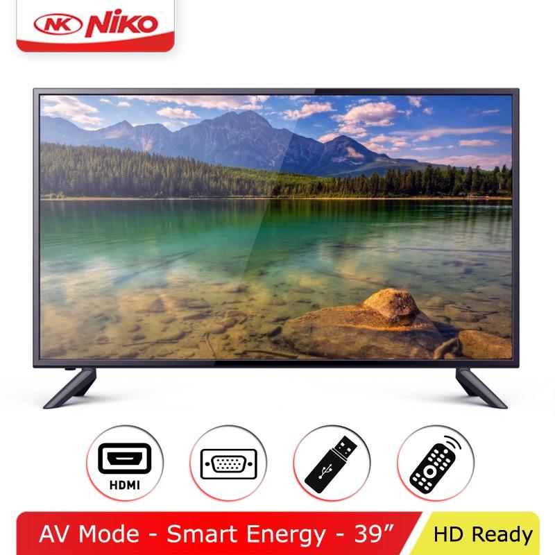 """LED TV NIKO 39"""" HD Free Ongkir Jabodetabek"""