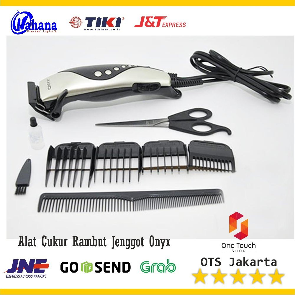 Alat Cukur Jinghao JH4612 Hair trimmer - Silver  ee7c7a5f25