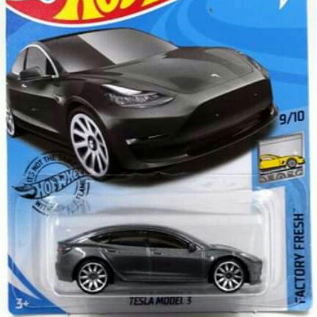 Hot Wheels Tesla Model 3 Shopee Indonesia
