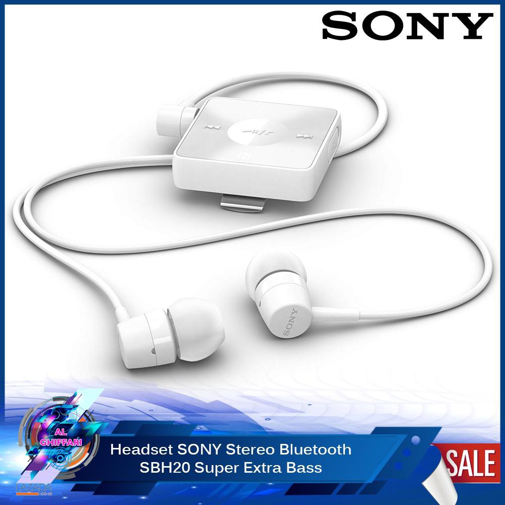 4e0c8fda16b Headset Bluetooth SONY SBH-20 | OEM | Shopee Indonesia