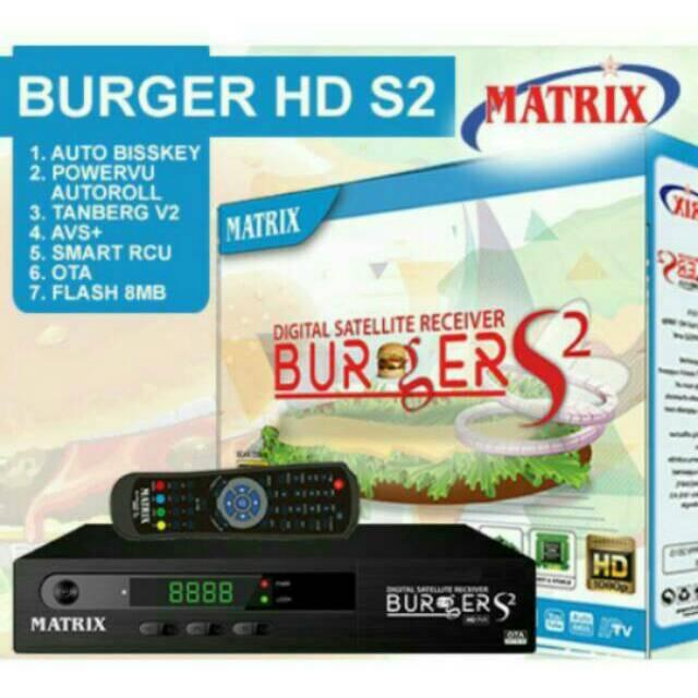 Receiver Parabola Matrix burger S2 8MB K5S  8469d834d2