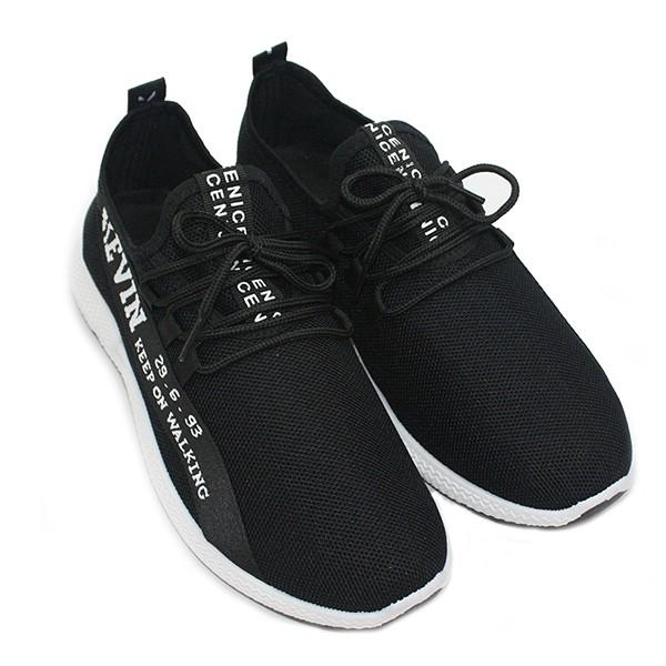 Dr. Kevin Men Sneakers 13376 - Black White  e68c96c85c