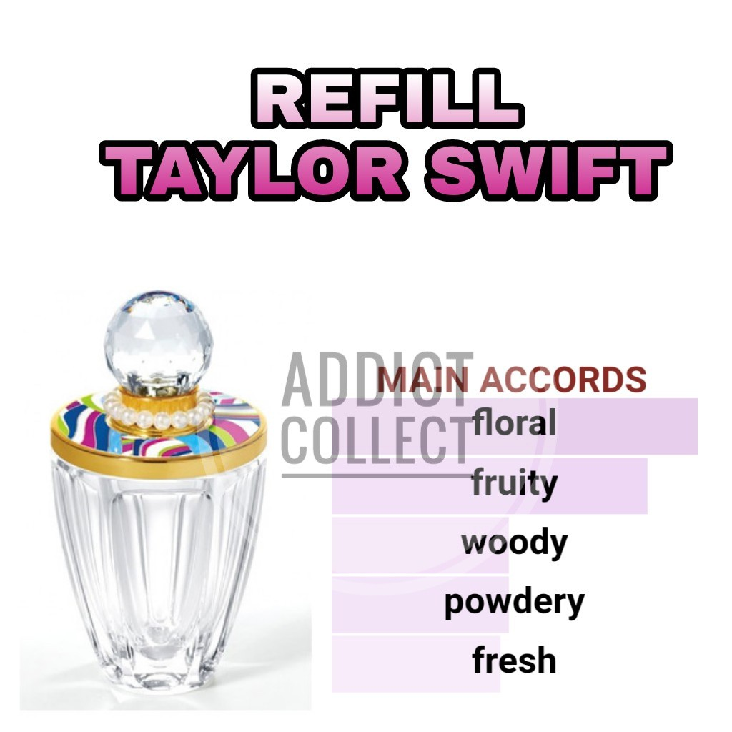 Parfum Refill Taylor Swift Best Quality Shopee Indonesia