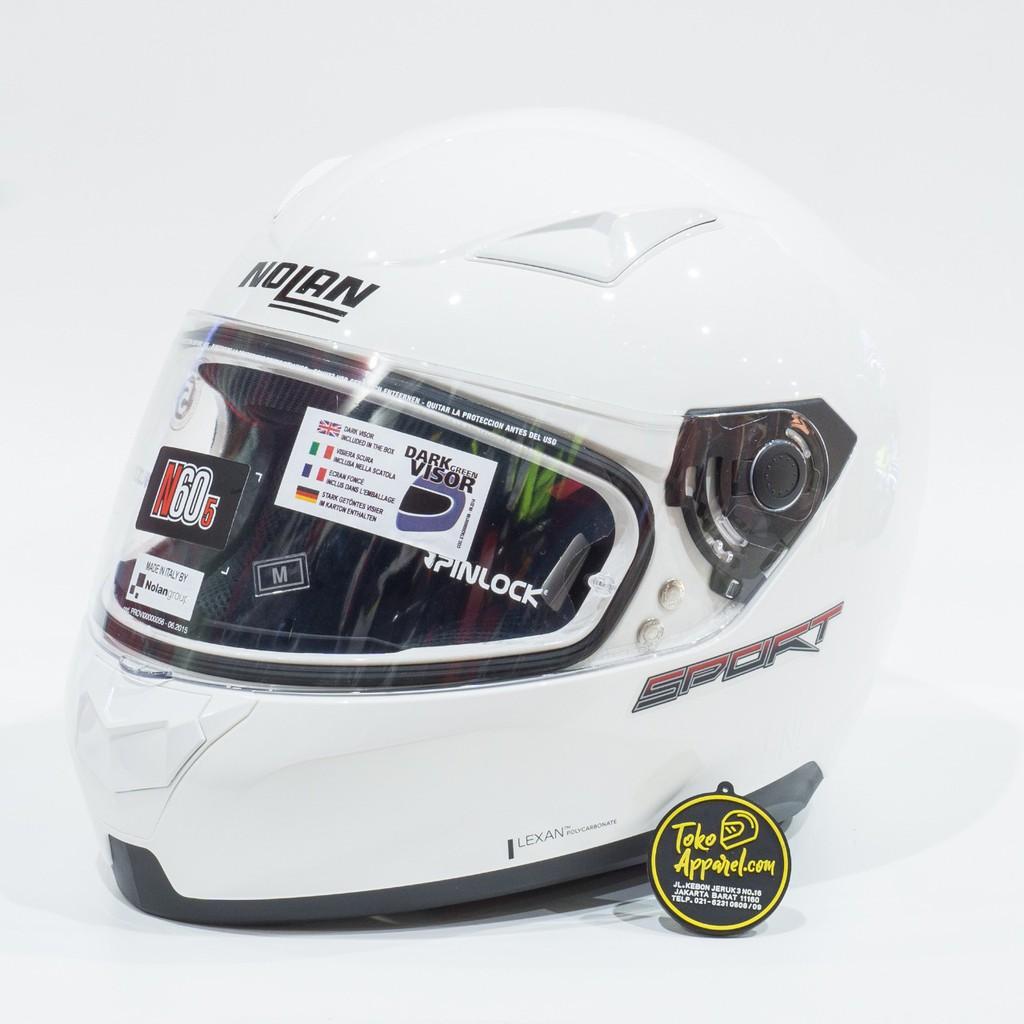 Nolan N60-5 Sport 013 M Metal White L