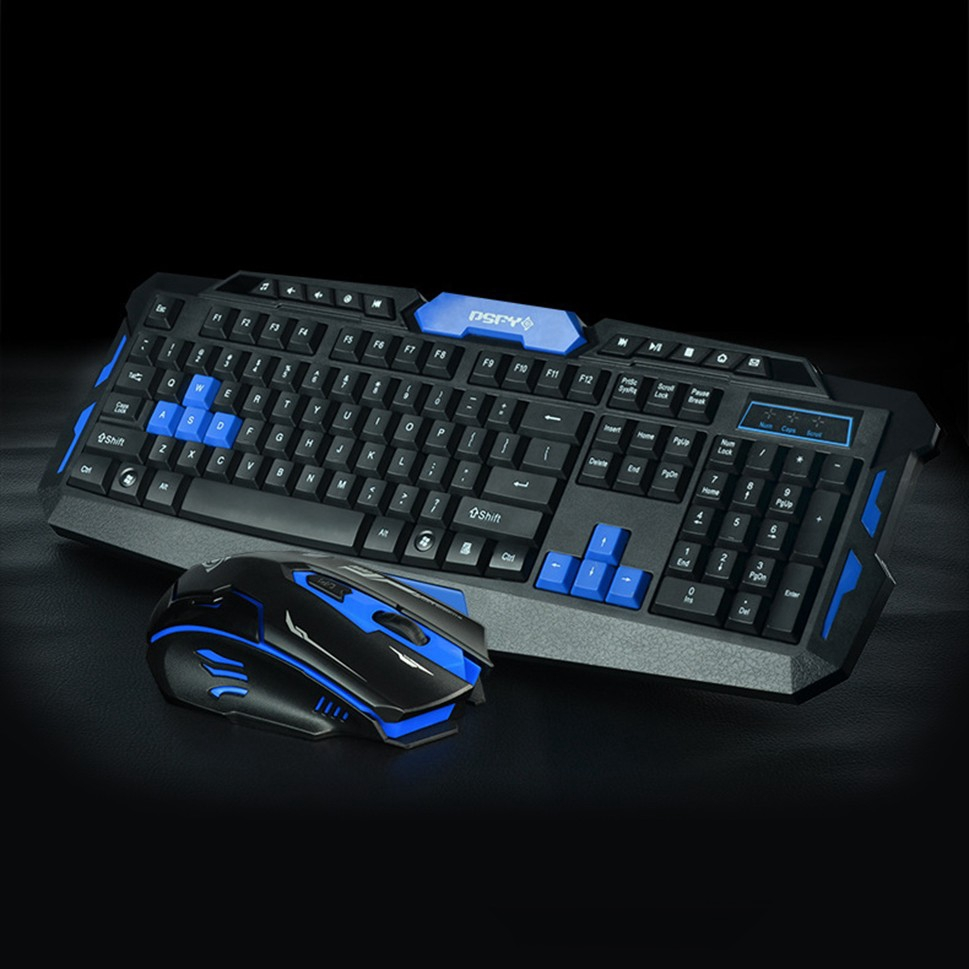 Set Combo Keyboard Mouse Gaming Wireless Bluetooth 2 4g Untuk Laptop Pc Shopee Indonesia