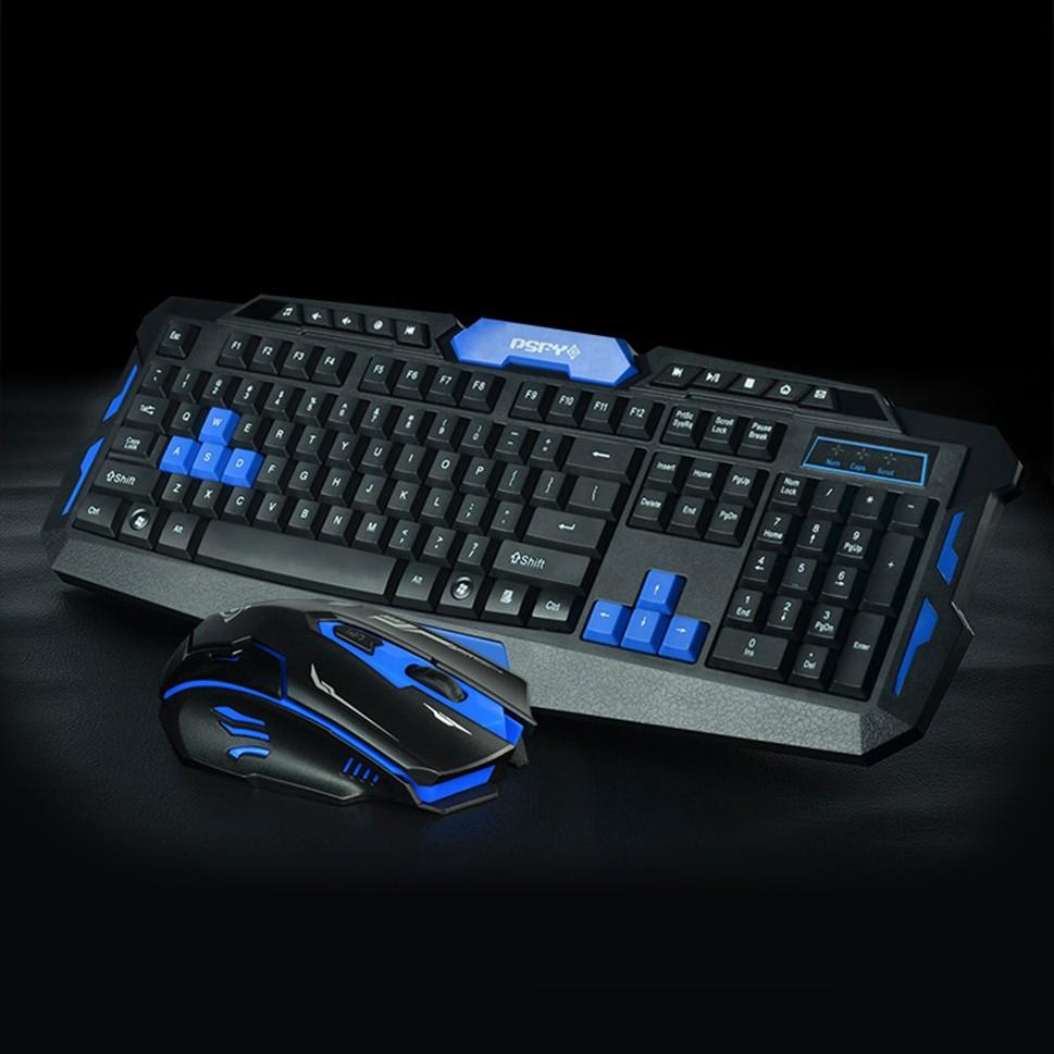 Set Combo Keyboard Mouse Gaming Wireless Bluetooth 2 4g Untuk Laptop Pc Shopee Indonesia