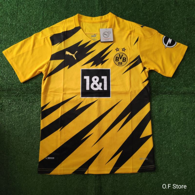 Jersey Borussia Dortmund Home Terbaru Musim 2020 21 Shopee Indonesia