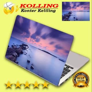 Garskin Laptop Wallpaper Aesthetic Dedaunan Skin Laptop Stiker