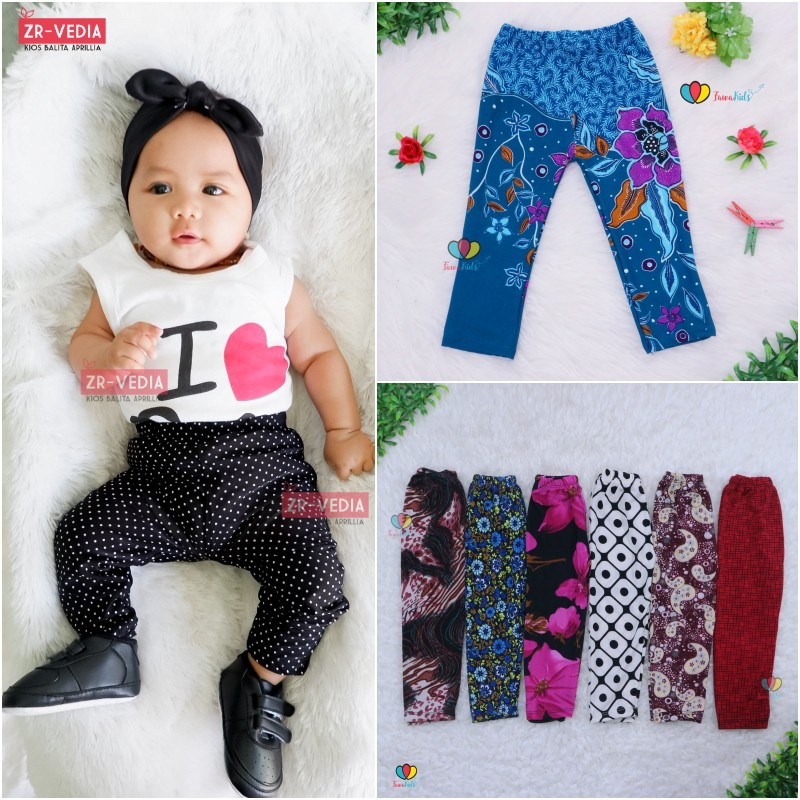 Legging Motif Uk 3 18 Month Legging Bayi Celana Panjang Baby Murah Leging Anak Perempuan Grosir Shopee Indonesia