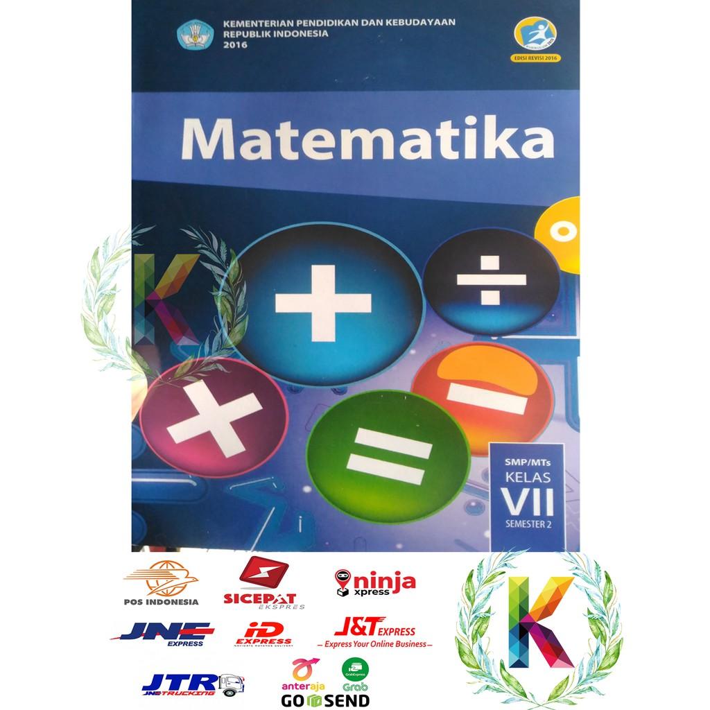 Buku Matematika Semester 2 Kelas 7 Smp Revisi 2017 Terbaru Kurikulum 2013 Shopee Indonesia