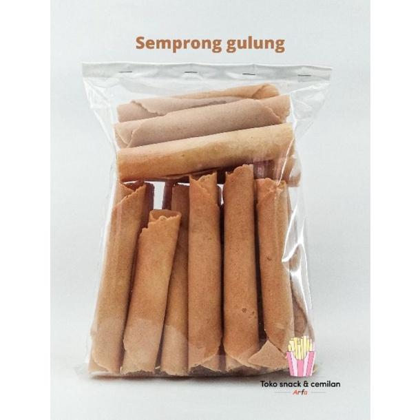 Snack semprong gulung | Toko Snack & cemilan serba 10 ribu