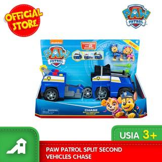 mainan kendaraan paw patrol split second vehicles | shopee indonesia