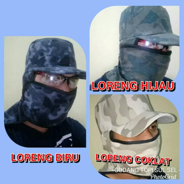 ( BigSale ) Topi Jepang Masker Samping I Topi Tani I Topi Berkebun I Anti  Panas