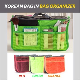 Travelmate [HARGA PROMO] Korean dual bag in bag organizer / Tas ipad / tas multifungsi | Shopee Indonesia