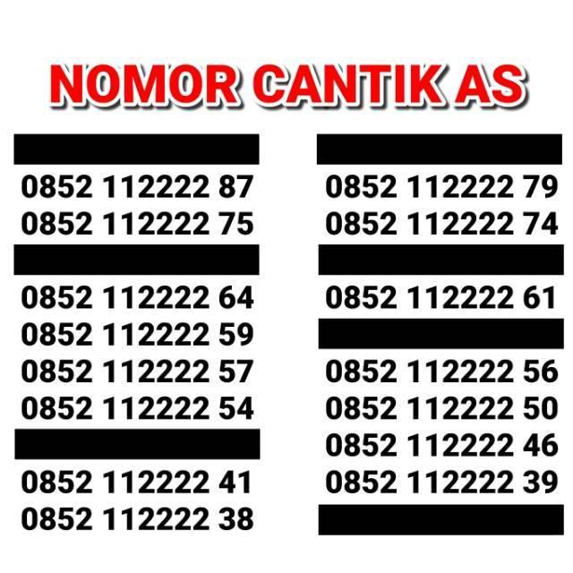 MURAH NOMOR CANTIK SIMPATI 11 DAN 12 DIGIT AS LOOP KARTU PERDANA TELKOMSEL 4G READY 7777 8888 9999 | Shopee Indonesia