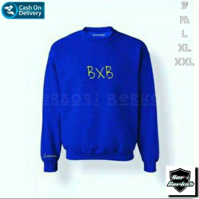 Sweater Bxb Betrand Peto | SweaterBetran Peto Bxb | Sweater Bxb Biru Betrand Peto