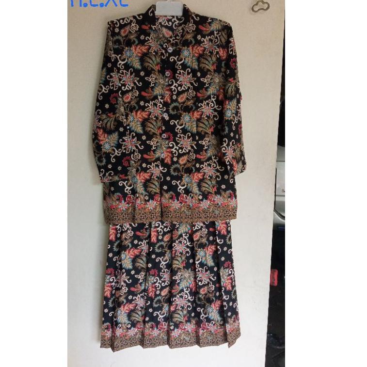 Setelan batik / baju nenek (ART. 0654)