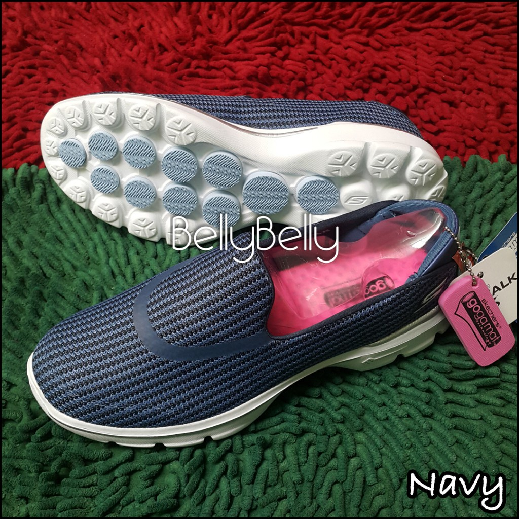 Sepatu Skechers Women Go Walk 3 Knit  Rajut  4f7d346202
